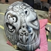 Airbrush art helmet by Julio Sapere | Ahahah!Awesome!