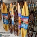 Surf1-2 Surfboard Crafts Bali Indonesia Wooden Surfing Boards Ornaments