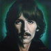 George Harrison by Tim Scoggins - George Harrison Painting