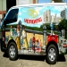 """Vending van for """"Schweppes"""" Soda drinks - Themed with Smurfs"""