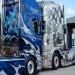 Amazing Truck Airbrush on Scania Trucks