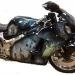 911- Hurricane Katrina tribute bike