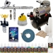 Iwata HP-CS Eclipse Airbrush System Kit Compressor Airbrush Paint Set