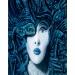 Airbrush artwork: Memories of Blue