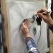 Airbrushing Basic B and W Portrait