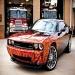 Badass Dodge Challenger & real flames