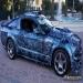 Details - #Skull on ford #Mustang GT 2008