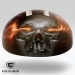 'The King' Motorcycle helmet designed and airbrushed by Ian Johnson – Excalibur Airbrushing