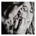 "acrylic ink on ""carta liquida"" by Tecka design"