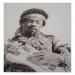 Hendrix, monochrome 50x70 cm.