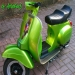 "ArteKaos Airbrush - Airbrush on Vespa ""Tuning"""