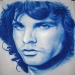 Jim morrison on a t-shirt