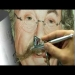 Airbrush Porträt - YouTube