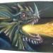 lancha aerografiada con dragones con nixa arte y aerografia, www.facebook.com/pages/nixa-arte-y-aerografia/222640651124798?ref=hl