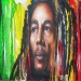 Bob Marley : One Life Unfinished on Behance by Tim Miklos of iPaint Airbrush Studio  2013 Acrylic on drywall