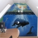 Airbrush on a wardrobe - The Ocean