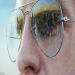 Artist Simon Hennessy creates hyper-realistic paintings of famous landmarks reflected in sunglasses lenses | Mail Online