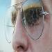 Artist Simon Hennessy creates hyper-realistic paintings of famous landmarks reflected in sunglasses lenses | Mail Online