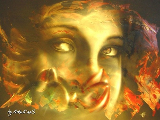 Abstract Airbrush Art, by ArteKaos