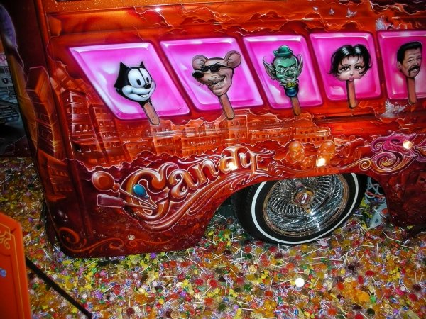 Candy Airbrush Car