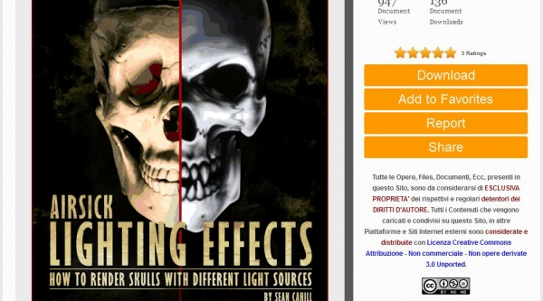 """Airbrush Stencil step by step - """"Lighting Effect"""" by Airsickstencil.com FREE DOWNLOAD"""