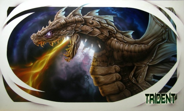 Trident Airbrush Paint - Gallery