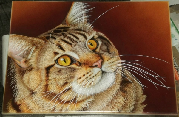 Airbrush and Traditional Brushwork - Jeroen van Neijhof Fine Art