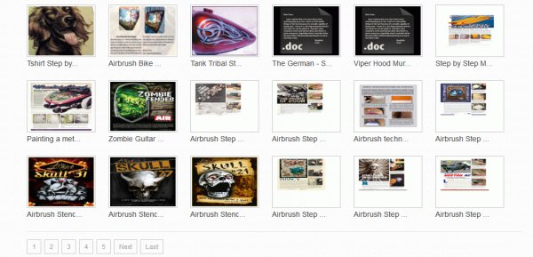 Up 80 #Free #Airbrush #Tutorials in PDF - Chose and #Download your favorite!
