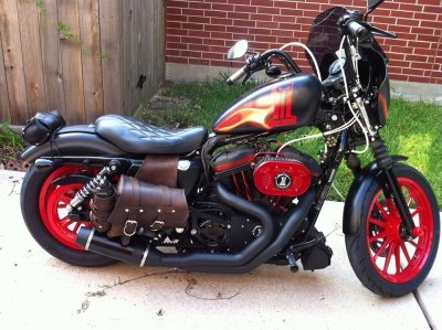 motorcycle  paint by Zimmer DesignZ.com