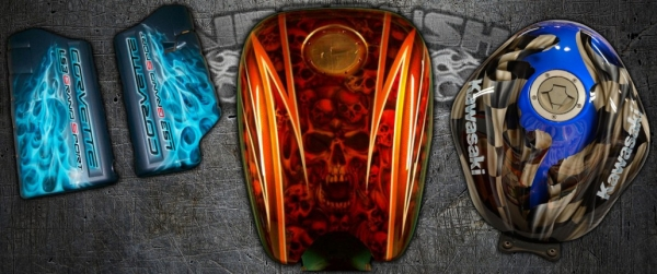 Airbrush Incorporated Inc | custom airbrushed artwork for your Corvette or Motorcycle