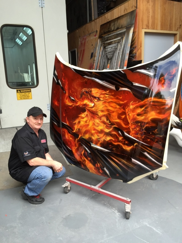 I hope one day to see This Amazing Artist on JustAirbrush - KILLER PAINT - Mr.Lavalle - www.killerpaint.com