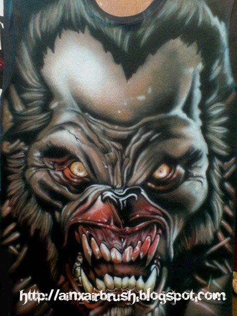 T-shirt Airbrush by Ainxairbrush