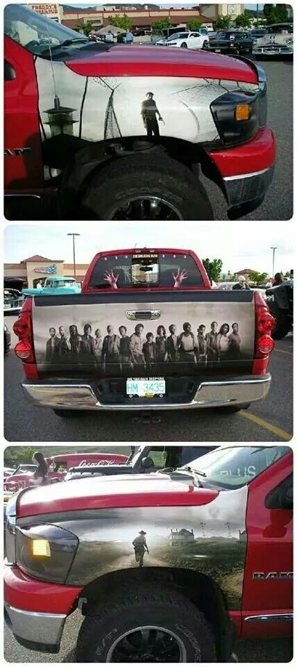 Awesome Airbrush Truck - Walking Dead