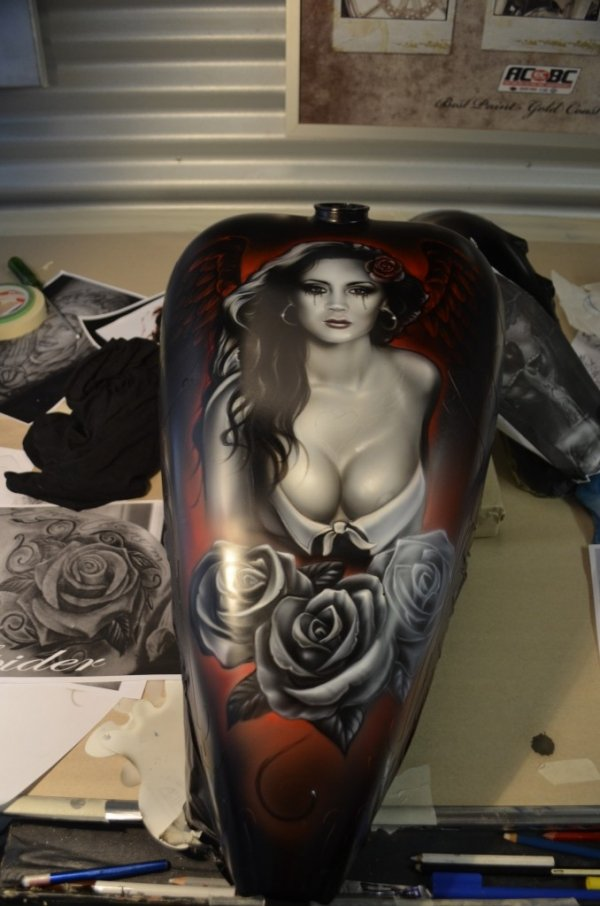 Step By Steps Archives - How To Airbrush