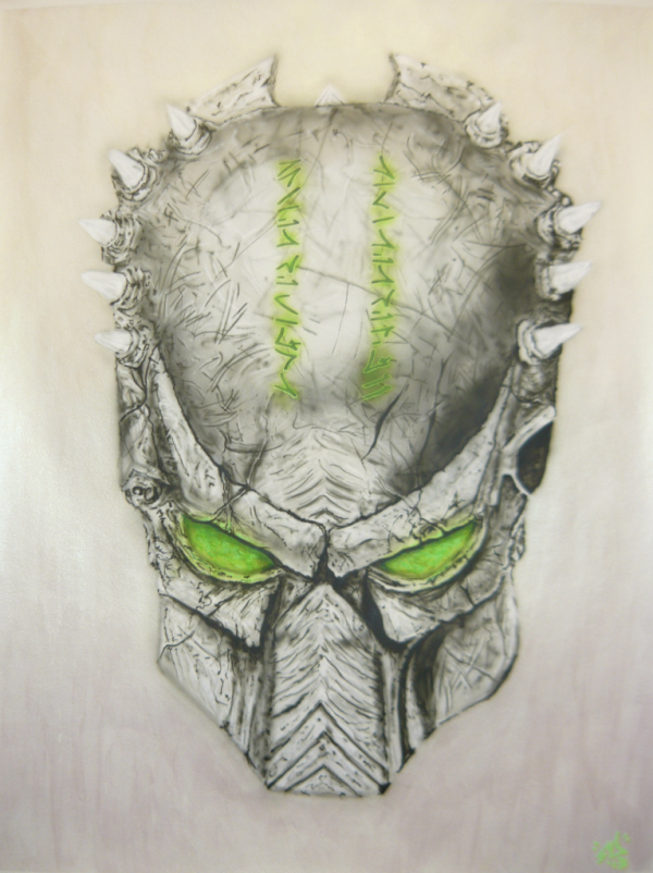 Metal predator mask
