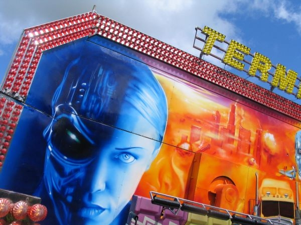 Airbrush Art :: National Fairground Archive