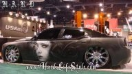 Corey Saint Claire Incredible Airbrush Art - HARD Lifestyle - Kustom Airbrush