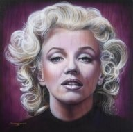 Marilyn Monroe Painting by Tim Scoggins - Favorite Art