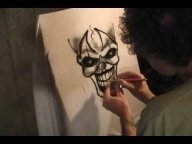 Airbrush - insane clown - Godsmack - Whatever - YouTube - Airbrush Videos
