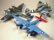 Fine Scale aircraft by Allan Butrick finished with Badger Legend Series airbrushes - Museum Modeling