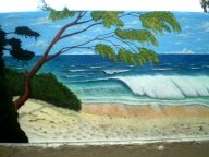 WAVE CLOSE UP - Airbrush Murales