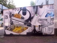 Just kitchen and household machines...whatever the client wants! - Airbrush Artwork and Murals