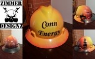 Conn Energy hard hat by ZimmerDesignZ.com - Hard Hats