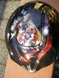 GAME HELMET_2 - Airbrush Artwoks