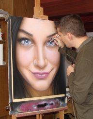 Airbrushing by kshandor - Fotorealismo