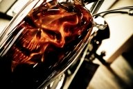 Ghost Rider HD Airbrush tank - My favorite on Justairbrush