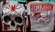 skull Tshirt - Spray-tees.com - Airbrush Artwoks