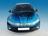Airbrush Honda Civic - Airbrush Artwoks