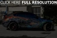 BMW X6M Hamman Car Airbrush - Airbrush Art