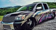 2007 Nissan Titan Custom Paint  - Tuning Cars Airbrush